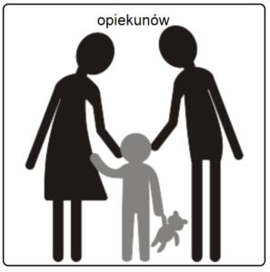 dostęp alternatywny a jednak piktogram opiekunów