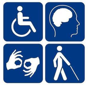niepełnosprawność piktogram
